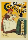AP15 Vintage 1897 Chocolat Carpentier French Advertisement Poster A1/A2/A3/A4