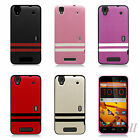 EagleCell ZTE Boost Max+ / Max N9520 Hybrid TPU PU Hard Case Back Cover TP2