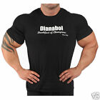 Ironworks Dianabol Black T- Shirt Bodybuilding Clothing
