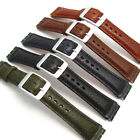 Leather Watch Strap Band for Swatch Irony Chrono 19mm by CONDOR Camel Grain CD15