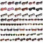 Womens Fashion Gradient Color Sunglasses Classic Large Round Frame Glasses New