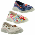 TigerBear Republik Wolfie Shoes Womens Vegan Canvas Trainers Sizes UK 4 - 8