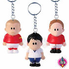 NEW WEENICONS WORLD CUP ENGLAND FIGURE BECKHAM LINEKER CHARLTON KEYRING BAG CLIP