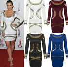 New Womens Celebrity Sexy Fashion Party Clubwear Evening Slim Bodycon Dress Lady