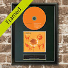 COLDPLAY Yellow FRAMED Signed CD COVER MOUNTED A4 Autograph Re Print (46)