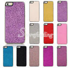 11 Candy Color PC Glitter Split Leather Hard Back Phone Case Cover For iphone5