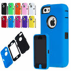 Hybrid Colorful Heavy Duty  Rugged Hard Case Cover For iPhone 5C C+Stylus+Film