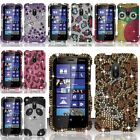 For Nokia Lumia 620 Full Diamond Design Case Cover