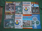 Scotland Home International Programmes 1975 - 1992 -Please Select From