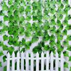 12X 2.3M Artificial Ivy Leaf Vine Plant Garland Fake Foliage Green Wedding Party