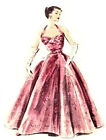 #81 50'S STYLE HALTER EVENING  GOWN PATTERN FOR ALL SIZE DOLLS