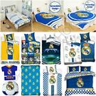 OFFICIAL REAL MADRID 100% COTTON DUVET COVERS BEDDING BEDROOM FOOTBALL NEW
