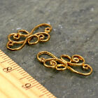 6pcs Solid Brass Wire Frame Filigree Connector Earring Charm be05 PICK