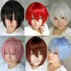Women's Fashion New Anime Cosplay Wig Weave Short Straight/Curly Hair Full Wigs