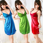 Sexy Babydoll Lingerie Underwear Sleepwear Night-Robe Gown Dress Pajams 6 Color