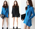 NEW Women Lady Fashion Trendy Top-Designed Good Overcoat Jacket