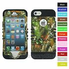 For iPhone SE,iPhone 5s 5 Camo Mossy Oak RKR Rugged ShockProof Phone Case Cover