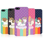 HEAD CASE DESIGNS UNICORNS CHUBBY COLLECTION BACK CASE FOR APPLE iPHONE 5 5S