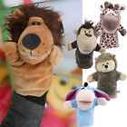 K5M Hand Glove Puppets Kids Child Plush Velour Toys Animal Preschool Story Learn