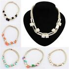 Hot Womens Fashion Simple Wild Vintage Chunky Collar Bid Statement Necklace