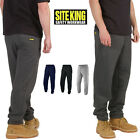 Mens Site King Tracksuit Fleece Pants S to 5XL SPORTS FITNESS BOTTOMS TROUSERS