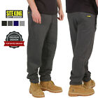 Mens Jogging Bottoms By SITE KING Size S to 5XL FLEECE TRACKSUIT TROUSERS / 018
