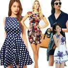 Fashion Women Sexy Casual Evening Cocktail Party Short Mini Dress Summer WST