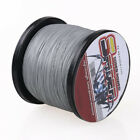 New 100M-1000M Gray 6LB-300LB Super Strong Dyneema Braid Sea Fishing Line