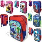 Childrens Disney and Character Wheeled Trolley Bag Suitcases - Kids Travel
