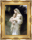 Framed Canvas Art Print Innocence by William Bouguereau Painting Reproduction