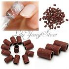 100PCS Nail Drill 80#120#180# Replacement Bits Sanding Band Manicure Pedicure