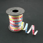 Happy Birthday Balloon Curling Ribbon / Gift Present Wrapping Party - 9.1m