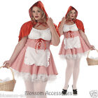 C961 Miss Red Little Riding Hood Party Fancy Dress Plus Halloween Costume Outfi