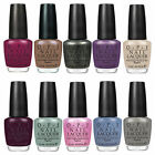 OPI NAIL LACQUER POLISH VARNISH COLLECTION COLOUR SELECTION ORIGINAL NEW