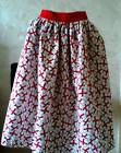 ST GEORGE CROSS/ENGLAND MOTIF COTTON CAPE -OR  APRON-/NATIONALDRESS-EURO SUPPORT