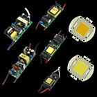 10W/30W/50W/100W Cool Warm White LED High Lamp Chip Driver Power supply Bulbs