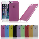 0.3mm Ultra Slim Thin Soft TPU Back Cover Case Pouch for Apple iPhone 5 5G 5S 5C