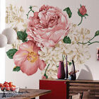 3D Large Elegant Peony Wall Stickers Wall Print Decal Wall Deco wall Mural Home