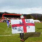 "35""x 61"" LARGE ENGLAND BODY FLAG ST GEORGE CROSS FLAG FOOTBALL TEAM WORLD CUP"