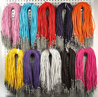 10/30/50/100 Wholesale Jewelry lots Leather Braided Leather necklace cord New