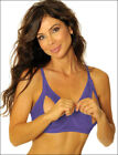 Lace Peek-a-Boo Bra Bare Exposed Breasts Nipples Open Cups Size 32 A B C D 1417