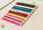 Kids Children Learning Art Craft Drawing Oiliness Wooden Colored Pencils Sets