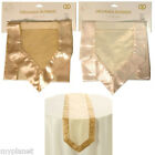 "ORGANZA RUNNER TABLE CLOTH WEDDING CHAIR BOW SASH PARTY DECORATION 15.5"" x 60"""