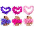 Practical 2M Fluffy Feather Boa Strip Fancy Makeup Party Wedding Xmas Decoration