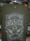 JOHNNY CASH PISTOLS MEAN AS HELL T-SHIRT NEW !