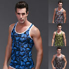 NEW Summer Sexy Mens Breathable Vest Smooth Undershirt Muscle Tank Tops A-Shirt