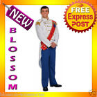 C413 Mens Prince Charming Outfit Adult Halloween Fancy Dress Costume
