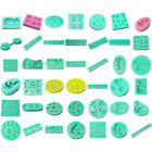 Silicone Clay Soap Fondant Cake Sugarcraft Decorating Biscuit Cookie Mold Mould