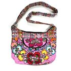 Ladies Handmade Handcrafted Tapestry Floral Design Handbag Shoulder Bag COTTON