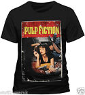 Official Pulp Fiction Poster T Shirt Quentin Tarantino Uma Thurman S M L XL XXL